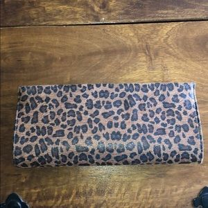 Banana Republic Cheetah Print Clutch Bag